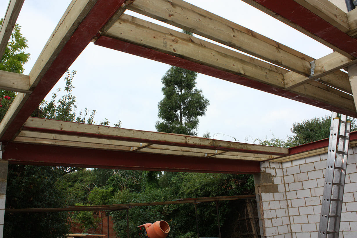 Steelwork and joists