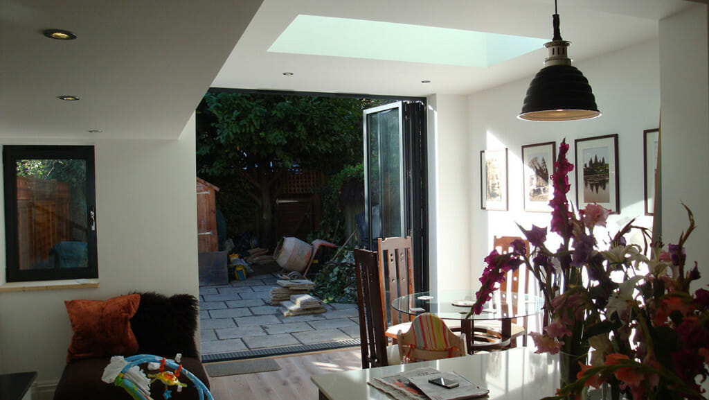 Kitchen extension in Putney