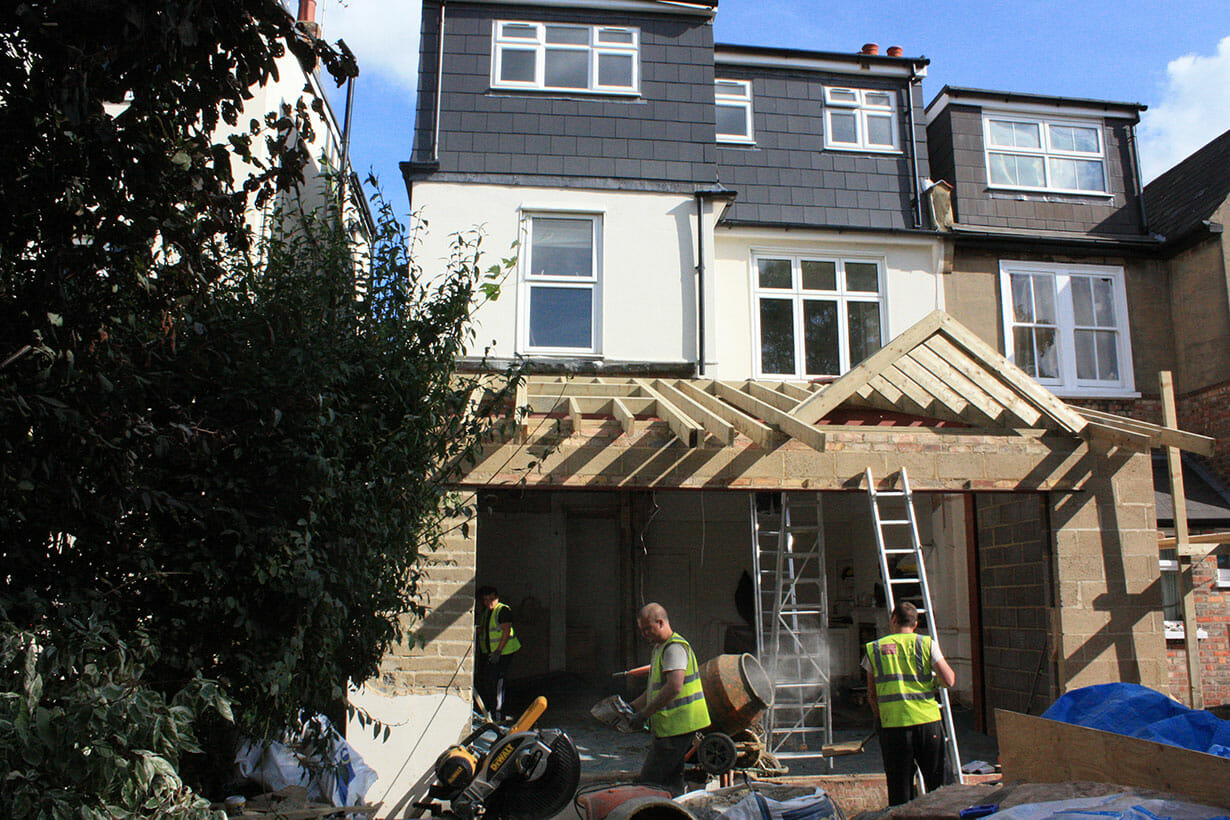 Builders creating extension